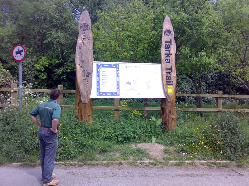 Tarka Trail information point